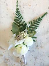Artifical Wedding,School formals,Graduations,Gala gents Buttonhole - Hand Made