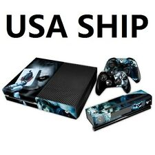 New One  Decal Cover Skin Joker Sticker For Xbox ONE with 2 Controller Cover USA