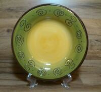 """TABLETOPS UNLIMITED AMBROSIA - 10 7/8"""" SAGE GREEN DINNER PLATES - MORE AVAILABLE"""