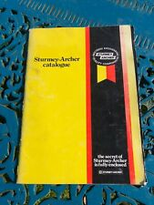 Genuine 1980 Sturmey Archer Master Catalogue for Hubs and gears reference guide