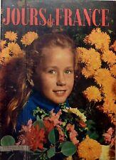 JOURS DE FRANCE numéro 1/1954: BRIGITTE FOSSEY_HENRI MATISSE_PAOLA MORI_ALGERIE