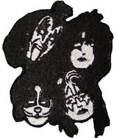 Embroidered Application KISS Band Logo Iron On Sew On Patch Rock & Roll Badge