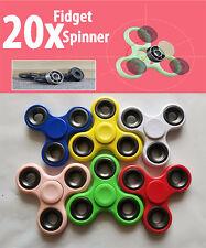 20x Fidget Spinner Hand Finger Focus Toy Gift EDC Stress Relief Game Boys Girls
