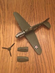 Forces Of Valor Unimax 1:72 US P-40 Fighter Plane Pearl Harbor, 1941 95031
