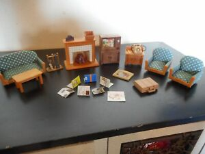 Calico Critters fancy living room furniture set