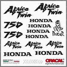 16pcs KIT Adesivi Nero compatibile con HONDA Africa Twin XRV 750 XRV750 Dakar