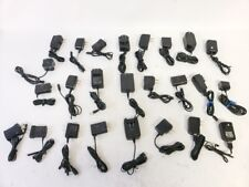 Lot of 25 Multiple Brand Mini/Micro Usb And Small Pin Travel Ac Adapter Charger