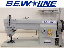 New listing Sew Line Sl-106 New Triple Feed Walking Foot w/110V Industrial Sewing Machine