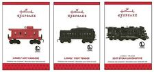 2013 Hallmark Lionel Trains 2037 Steam Locomotive 1130T Tender 6017 Caboose Set!