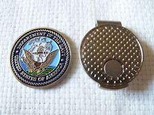 Premium Detail U.S. Navy Ball Marker and Magnetic Hat Clip + Bonus