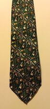 Museum Artifacts Golf Sport Ball Club Driver Putter Men Silk Neck Tie #D6-12