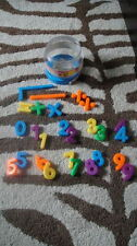 Lot Of Magnet Numbers Magnetic W/ Case