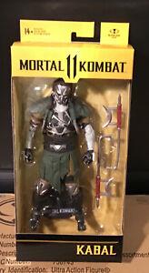 """McFarlane Mortal Kombat 11  Kabal Hooked Up Skin  7"""" Action Figure In Stock MIP!"""