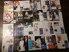 Royal family MEGHAN MARKLE & PRINCE HARRY Magazine CLIPPINGS pack#2
