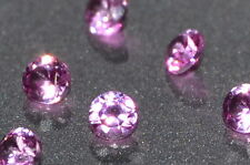 A Single 2mm Amazing Bright Pink Enhanced Natural SAPPHIRE