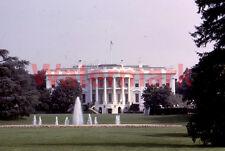 WHite House Front Lawn Washington DC 1964 Kodak 35mm Slide 2
