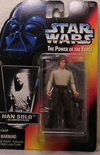 Kenner Star Wars Power Of The Force Red Card Han Solo In Carbonite Block...