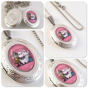 Moomin & Friends oval Locket necklace Moomins X