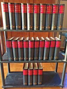 Brockhaus Enzyklopädie, 19. Auflage, 24 Bände