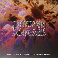 Jefferson Airplane Last Stand at Winterland 1970 Radio Broadcast Double LP 13 T