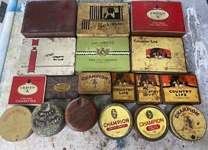 Old Tobacco Tins