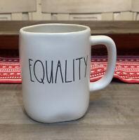 Rae Dunn By Magenta - LL EQUALITY - White Ceramic Coffee Mug