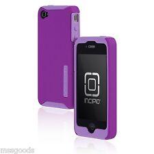 Incipio SILICRYLIC Hard Cover Double Case Shell Ultra-thin iPhone 4 4S Purple