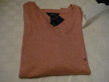 Brooks Brothers 346 Ladies/Jr. T-shirt, V-neck 3/4 sleeves, RED NWT!