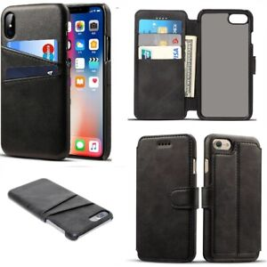 For iPhone 6 Cover New Back Leather Case & Flip  Stand Up Cover Wallet Phone