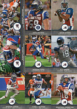 2016 Upper Deck CFL Football Montreal Alouettes Offensive Players Team Set (12)