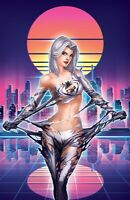 SOLD OUT: WHITE WIDOW #4 - BODACIOUSLY  VIRGIN METAL EXCLUSIVE - JAMIE TYNDALL