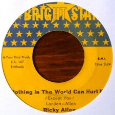 RICKY ALLEN - Nothing in the world can hurt me / What do you do - BRIGHT STAR
