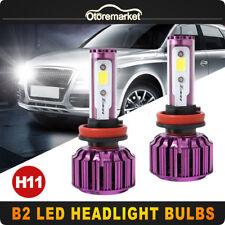 2X H8 H9 H11 9000LM 60W Car Led Headlightt 8000K Replace Kit 12V Bulb High Power