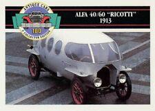 1992 Antique Cars #21 Alfa 40/60 Ricotti - 1913