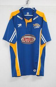 Leeds Rhinos Patrick Rugby Union Shirt Jersey Training size L