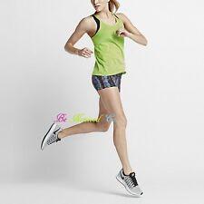 "Nike 3"" Sidewinder Epic Lux Women's Running Shorts S Blue Multi Gym Training New"