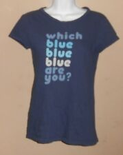Women's 'American Eagle Outfitters' Size S - Short Sleeve Blue Thin Shirt Top