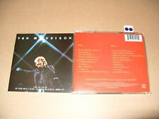 Van Morrison It's Too Late to Stop Now. (Live Recording, 2008) 2 cd Nr Mint/Mint