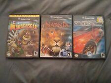 NFS Underground, Narnia and Madagascar (Nintendo GameCube, 2003) Games