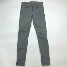GRLFRND Candice Super Stretch Skinny Pant Pockets Cotton Blend Women 25 $175
