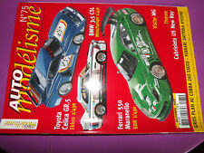 T.0 Auto Modelisme n°75 Ferrari Daytona Kyosho / Chrysler Viper GTS-R