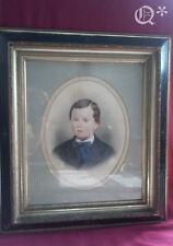 Antique 19th Century  Portrait of Boy on Frederick F Gutekunst Photo