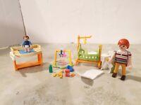 Playmobil Citylife modernes Wohnen Baby Kinderzimmer doll house