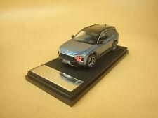 1:43 NIO ES8 Founders Edition model car blue color