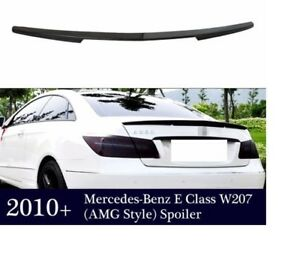 CARBON BOOT LIP SPOILER FOR MERCEDES BENZ W207 AMG