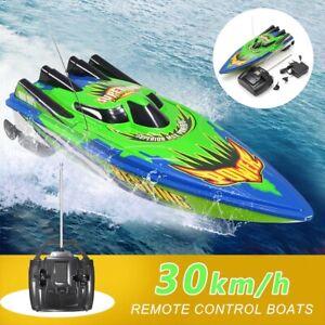 2.4G High Speed RC Boot 2 Kanal Ferngesteuertes Rennboot Schiff Spielzeug 20km/h