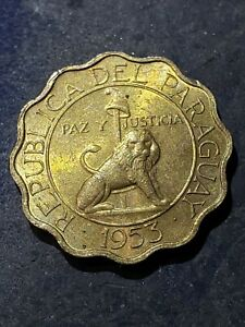 1953 Paraguay 50 Centimos Coin ***1 Year Type Coin***