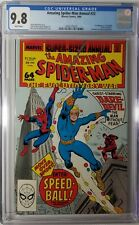 Amazing Spider-Man Annual #22 CGC 9.8 NM/MT 1st Appearance of Speedball