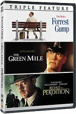 FORREST GUMP / The GREEN MILE / ROAD TO PERDITION DVD TOM HANKS TRIPLE REGION 1