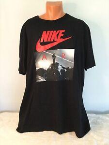 NIKE AIR Black The Nike Tee Shirt. Size 3XL. NEW.